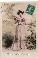 FEMMES 1025 : Heureuse Année  , édit. Allys 633 - Femmes