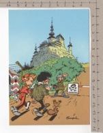 Trésors Du Journal De Spirou - Illustration De Couverture Pour Le 90e Album Du Journal, Par André Franquin - Bandes Dessinées