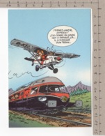 Trésors Du Journal De Spirou - Illustration De Couverture Pour Le 93e Album Du Journal, Par André Franquin - Bandes Dessinées