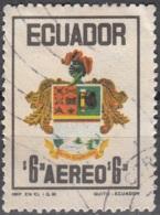 Ecuador 1972 Michel 1590 O Cote (2005) 0.40 Euro Armoirie Cachet Rond - Equateur
