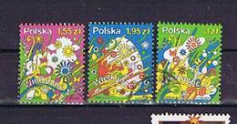 Polen 2012, Michel-Nr. 4550-4552, Ostern / Easter Gestempelt, Used - 1944-.... República