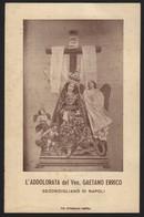 610 Santino Antico Maria SS Addolorata Da Secondigliano - Napoli - Religione & Esoterismo