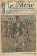 LE PELERIN 2350 DU 9 AVRIL 1922. VENDEUR D' AGNEAUX EN ROUMANIE ROMANIA. BRUNEAU DE LABORIE A HOGGAR. LOUP ET CIGOGNE - Journaux - Quotidiens