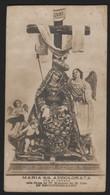 611 Santino Antico (1931) Maria SS Addolorata Da Secondigliano - Napoli - Religione & Esoterismo