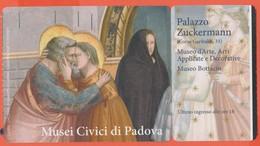PADOVA - Cappella Degli Scrovegni - Musei Civici - Biglietto D'ingresso, Palazzo Zuckermann - Usato - Biglietti D'ingresso