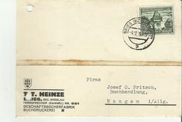 Briek Bei Breslau Schöne Karte 1939 Kl. Mängel - Occupazione 1938 – 45