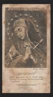 612 Santino Antico (1940) Madonna Addolorata Da Orbetello - Grosseto - Religione & Esoterismo