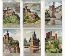 FIGURINE LIEBIG - 1933 - I Castelli Del Reno - Serie Completa Nr. 1273 (Sanguinetti) - Lingua Italiana - (FDC20924) - Liebig