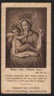 613 Santino Antico Madonna Delle Grazie Da Salsomaggiore - Parma - Religione & Esoterismo