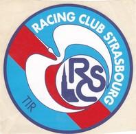 Autocollant Publicitaire - Tir Sportif - Club De Tir - Racing Club Strasbourg 67 - Autocollants