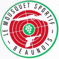 Autocollant Publicitaire - Tir Sportif - Club De Tir - Le Mousquet Sportif BEAUNOIS 21 - Autocollants