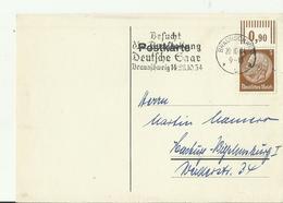 DR GS 1944 BRAUNSCHWEIG - Stamped Stationery