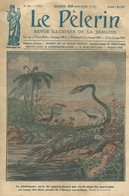 LE PELERIN 2354 DU 7 MAI 1922. PLESIOSAURE. M. MILLERAND VISITE TIMGAD ALGERIE ALGERIA - Journaux - Quotidiens