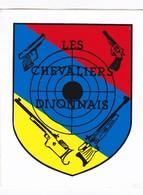 Autocollant Publicitaire - Tir Sportif - Club De Tir -  Les Chevaliers Dijonnais  21 - Autocollants