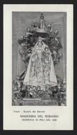617 Santino Antico Madonna Del Rosario Da Poli - Roma - Religione & Esoterismo