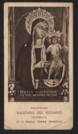 618 Santino Antico Madonna Del Rosario Da Santa Maria Sopra Minerva - Roma - Religione & Esoterismo