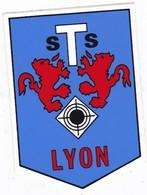 Autocollant Publicitaire - Tir Sportif - Club De Tir -  S.T.S.  LYON 69 - Autocollants