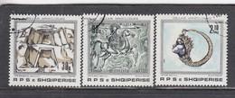 Albania 1989 - Treasures, Mi-Nr. 2388/90, Used - Albanie