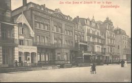 BLANKENBERGE : Les Villas Boma Et Léopold II Sur La Digue - Blankenberge