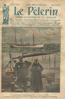 LE PELERIN 2356 DU 21 MAI 1922. BATEAU NAVIRE HOPITAL. SAINT PHILIPPE DE NERI RESSUSCITE A ROME ROMA PAUL MASSIMO - Non Classés