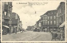 BLANKENBERGE : Bd De Smet De Nayer-laan  / Cuisse-tax - Blankenberge