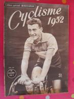 Cyclisme 1952. édition Spéciale Miroir-sprint. Avril . Louison Bobet Ferdi Kubler Koblet Coppi Magni Bartali - Newspapers