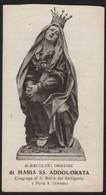 623 Santino Antico Maria SS Addolorata Da Napoli - Religione & Esoterismo