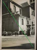 Photo Original, Grenoble Avec Voiture 1930   8x6 - Grenoble