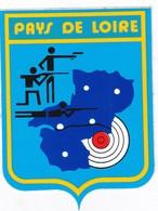 Autocollant Publicitaire - Tir Sportif - Club De Tir - Ligue PAYS DE LOIRE - Autocollants