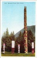 Alaska Sitka Memorial Indian Totem Poles - Sitka