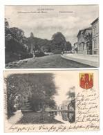 Ansichtskarte , Oldenburg ,  2x Elisabethstrasse - Oldenburg