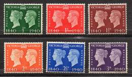 GREAT BRITAIN 1940 Centenary Of First Adhesive Postage Stamps - Nuovi
