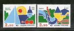 Finland 1993 Tourism Musical Instrument Sc 912-13 MNH # 946 - Finlandia