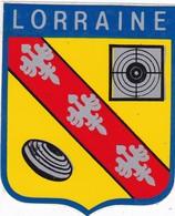 Autocollant Publicitaire - Blason LORRAINE - Stickers