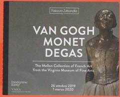 """PADOVA - Palazzo Zabarella - Mostra """"Van Gogh, Monet, Degas - The Mellon Collection - Biglietto D'ingresso - Usato - Biglietti D'ingresso"""
