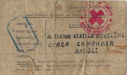 CAMPO PRIGIONIERI POW CAMP GREAT BRITAIN 1943 CONCA DELLA CAMPANIA - 1900-44 Victor Emmanuel III.