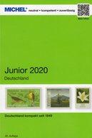 Deutschland Briefmarken Junior 2020 New 10€ MlCHEL: DR 3.Reich Danzig Saar Berlin SBZ DDR AM BRD ISBN 9783954022908 - Crónicas & Anuarios