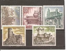 España/Spain-(MH/*) - Edifil  1880-84 - Yvert  1540-44 - 1931-Today: 2nd Rep - ... Juan Carlos I
