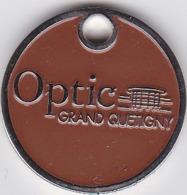 Jeton De Caddie Metal - Optic Grand Quetigny - Cote D'or - Dijon - Einkaufswagen-Chips (EKW)