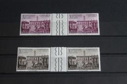 Italien Römische Verträge 1967, Zwischenstegpaar, Postfrisch - 1967