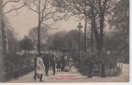 CPA Tout Paris - Square Du Temple (très Jolie Scène) - Arrondissement: 03