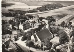 *** 76 ***  ST JOUIN BRUNEVAL L'église Et Le Château Vue Aérienne - Timbrée TTB - France