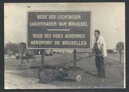 +++ PHOTO - Aéroport De BRUXELLES - Aviation - LUCHTHAVEN Van BRUSSEL - Régie Des Voies Aériennes   // - Bruxelles National - Aéroport