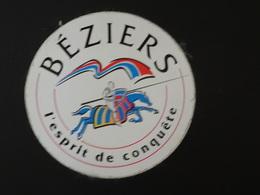 Adhésif Autocollant  Béziers L'esprit De Conquête Chevalier Aufkleber Wappen Coat Arms Sticker Adesivo Adhesivo - Obj. 'Remember Of'