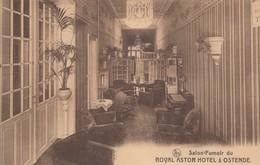 Oostende - Ostende - Royal Astor Hotel - Salon-Fumoir - Oostende