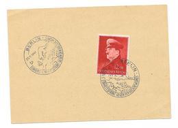DR Karte Mit MI.772 + SST. Berlin 25.11.1941 Europas Einheitfront Gegen Den Bolschewisnus - Lettres & Documents