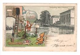 Ansichtskarte , Oldenburg ,  Palais Und Augusteum - Oldenburg
