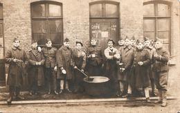 Fotokaart Carte Photo ( 9 X 14 Cm ) Militair Soldaat Soldat Militaire 4e Regiment De Bruges Brugge - Brugge