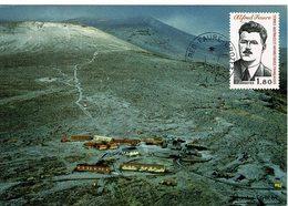 BASE ALFRED FAURE 1988 Carte Postale De La Base TTB - Tierras Australes Y Antárticas Francesas (TAAF)