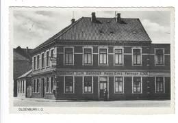 Ansichtskarte , Oldenburg , Gasthof Zum Bahnhof , 1942 - Oldenburg
